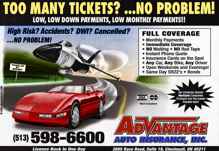 High Risk Car Insurance >> Cincinnati Auto Insurance Car Sr22 Bond High Risk Oh
